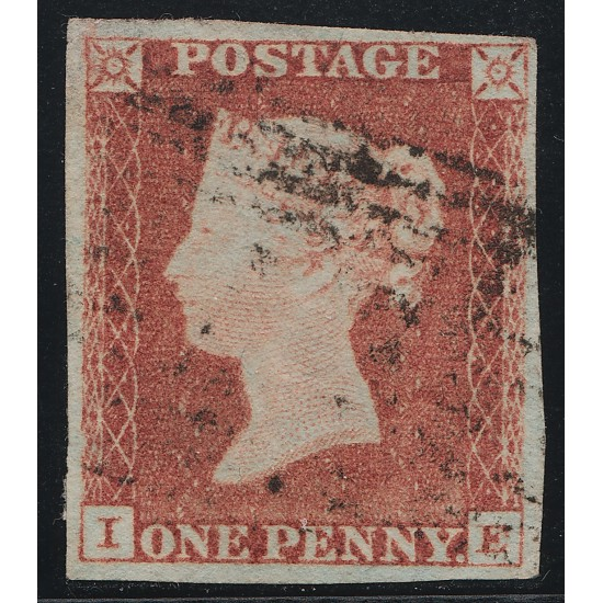 1847 Penny Red Stamp Plate 77 (IE)
