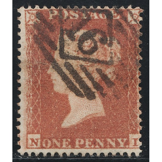 """1850 Penny Red Stamp """"Archer"""" Plate 97 (NI) SG16b Spec CE2"""