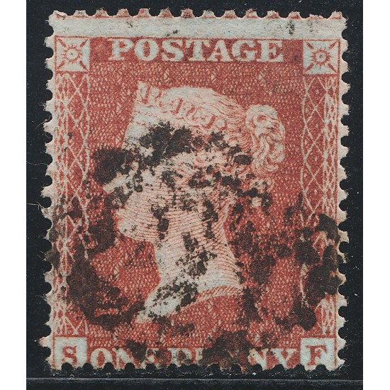 Penny Red Stamp Spec C3 Plate 15 (SF)